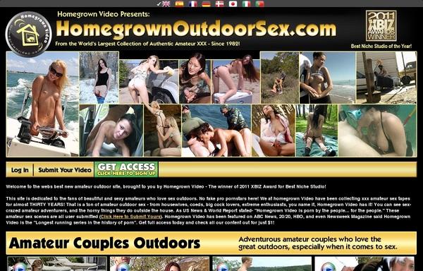 Homegrownoutdoorsex.com Descargar