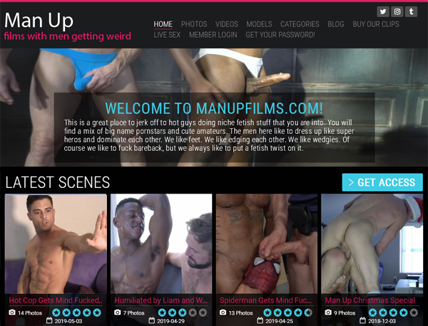 Man Up Films Paypal Signup