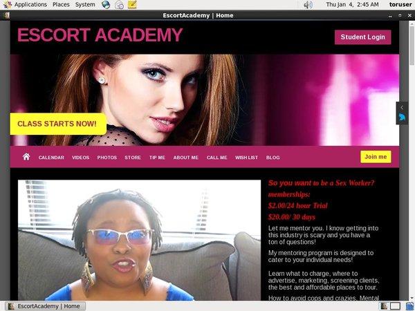 Limited Escort Academy Promo